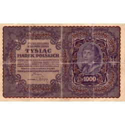 POLOGNE - PICK 29 - 1000 MAREK - 23/08/1919