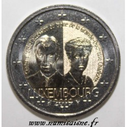 LUXEMBOURG - 2 EURO 2019 - 100 YEARS OF ACCESSION TO THE GRAND DUCHESSE CHARLOTTE