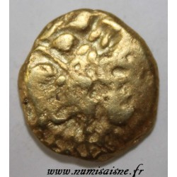 AMBIANI - AREA OF AMIENS - GOLD STATER BIFACE