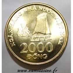 VIETNAM - KM 75 - 2000 DONG 2003