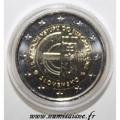 SLOVAKIA - 2 EURO 2014 - 10th anniversary of his entry into the European Union.