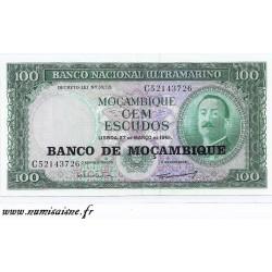 MOZAMBIQUE - PICK 117 - 100 ESCUDOS - NON DATÉ - 1976