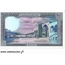 LIBAN - PICK 66 d - 100 LIVRES - 1988