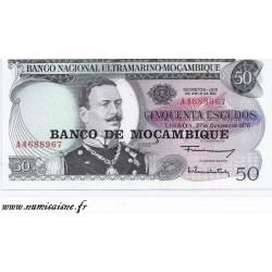 MOZAMBIQUE - PICK 116 - 50 ESCUDOS - NON DATÉ - 1976