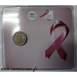 FRANCE - 2 EURO 2017 - 25 YEARS OF THE PINK RIBBON