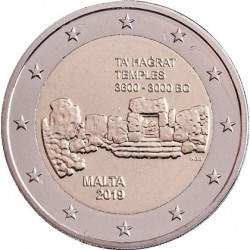 MALTA - 2 EURO 2019 - PREHISTORIC SITE TA 'HAGRAT