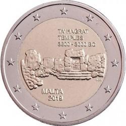 MALTE - 2 EURO 2019 - SITE PREHISTORIQUE TA' HAGRAT