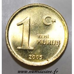 TURQUIE - KM 1164 - 1 KURUS 2005