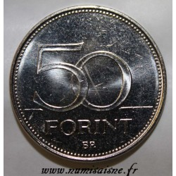HONGRIE - KM 697 - 50 FORINT 2004