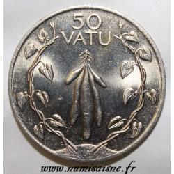 VANUATU - KM 8 - 50 VATU 1990