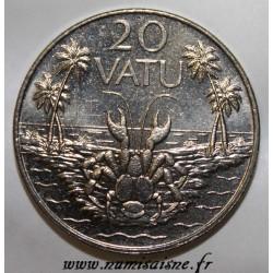 VANUATU - KM 7 - 20 VATU 1999