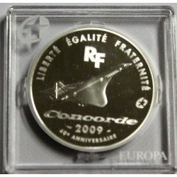 FRANCE - KM 1596 - 10 EURO 2009 - EUROPA STAR - 40th anniversary of the first Concorde flight