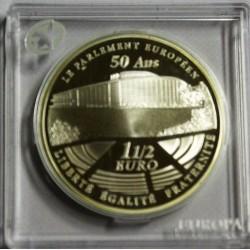 FRANCE - KM 1532 - 1 1/2 EURO 2008 - EUROPA STAR - 50 ans du Parlement européen