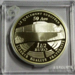 FRANCE - KM 1532 - 1 1/2 EURO 2008 - EUROPA STAR - 50 years of the European Parliament