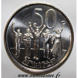 ETHIOPIA - KM 47.2 - 50 SANTEEM 2005 - EE 1997