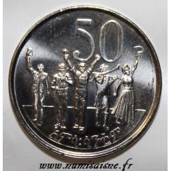ÉTHIOPIE - KM 47.2 - 50 SANTEEM 2005 - EE 1997
