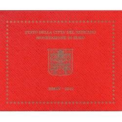 VATICAN - UNIVERSAL BRILLIANT EURO 2015 BOX - PAPE FRANCOIS - 8 COINS (3.88 euros)