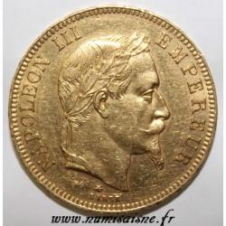 FRANKREICH - KM 802 - 100 FRANCS 1864 A - Paris - GOLD - NAPOLEON III