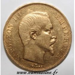 GADOURY 1111 - 50 FRANCS 1859 BB - Strasbourg - OR - TYPE NAPOLEON III - KM 785