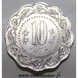 INDIEN - KM 27.1 - 10 PAISE 1972 - Bombay