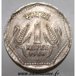 INDIA - KM 79.1 - 1 RUPEE 1986 - Bombay