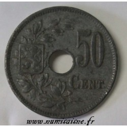 BELGIUM - KM 83 - 50 CENTIMES 1918