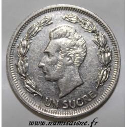 ECUADOR - KM 83 - 1 SUCRE 1975