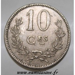 LUXEMBOURG - KM 34 - 10 CENTIMES 1924