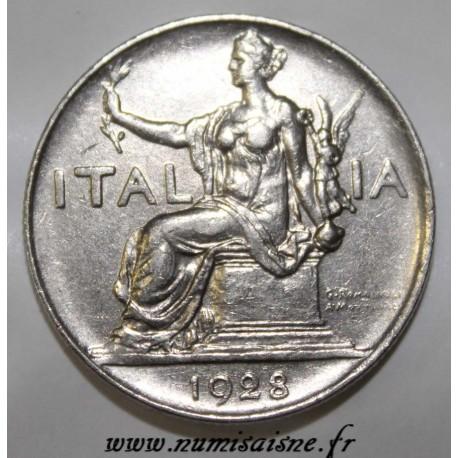 ITALY - KM 62 - 1 LIRE 1928