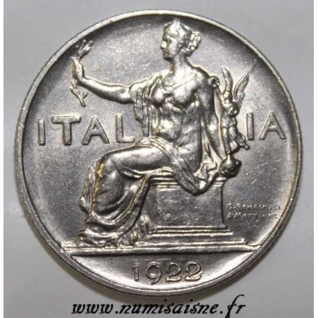 ITALY - KM 62 - 1 LIRE 1922