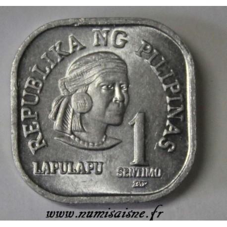 PHILIPPINES - KM 224 - 1 SENTIMO 1980