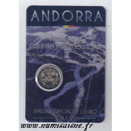 ANDORRA - 2 EURO 2019 - SKIING WORLD CUP FINALS - COINCARD