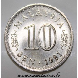 MALAYSIA - KM 3 - 10 SEN 1981