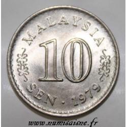 MALAYSIA - KM 3 - 10 SEN 1979