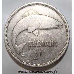 IRLANDE - KM 15a - 1 FLORIN 1968