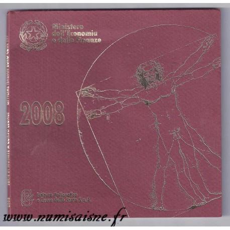 ITALIE - MINT SET BU 2008 BLISTER - SECOND HAND