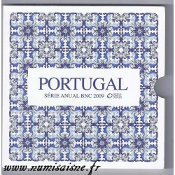 PORTUGAL - COFFRET EURO BRILLANT UNIVERSEL 2009 - 8 PIECES - OCCASION
