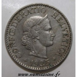 SCHWEIZ - KM 27 - 10 RAPPEN 1925 B