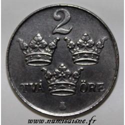 SCHWEDEN - KM 811 - 2 ORE 1950 - GUSTAF V