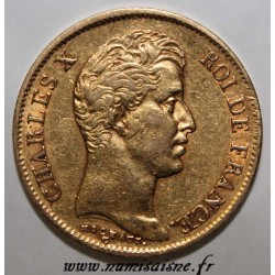 FRANCE - KM 721 - 40 FRANCS 1830 A - Paris - CHARLES X