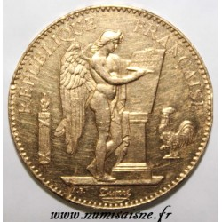 GADOURY 1137 - 100 FRANCS 1881 A - OR - GENIE - KM 832