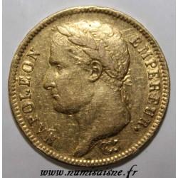 GADOURY 1084 - 40 FRANCS 1812 A - Paris - NAPOLEON 1er - KM 696