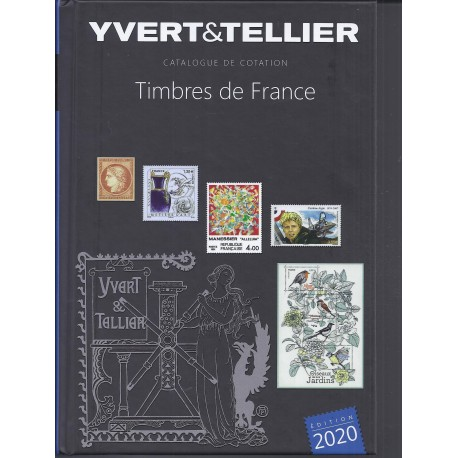 TIMBRES DE FRANCE (STAMPS OF FRANCE) 2020 - YVERT & TELLIER