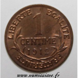 GADOURY 90 - 1 CENTIME 1912 - TYPE DUPUIS - KM 840