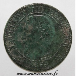 FRANKREICH - KM 776 - 2 CENTIMES 1854 W - Lille - NAPOLÉON III