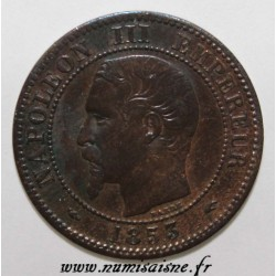 FRANCE - KM 776 - 2 CENTIMES 1853 A - Paris - NAPOLÉON III