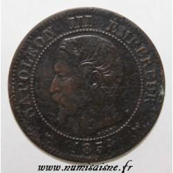 GADOURY 103 - 2 CENTIMES 1854 W - Lille - TYPE NAPOLEON III - KM 776