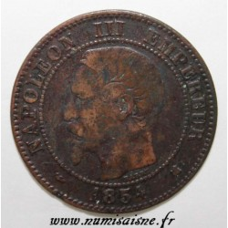 FRANCE - KM 776 - 2 CENTIMES 1854 K - Bordeaux - NAPOLÉON III