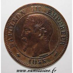 GADOURY 103 - 2 CENTIMES 1855 A - Paris - NAPOLÉON III - KM 776 - Ancre