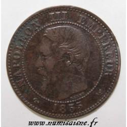 FRANKREICH - KM 776 - 2 CENTIMES 1855 W - Lille - NAPOLEON III